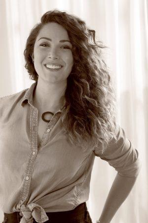 Courtney Swift-Copeland, smiling