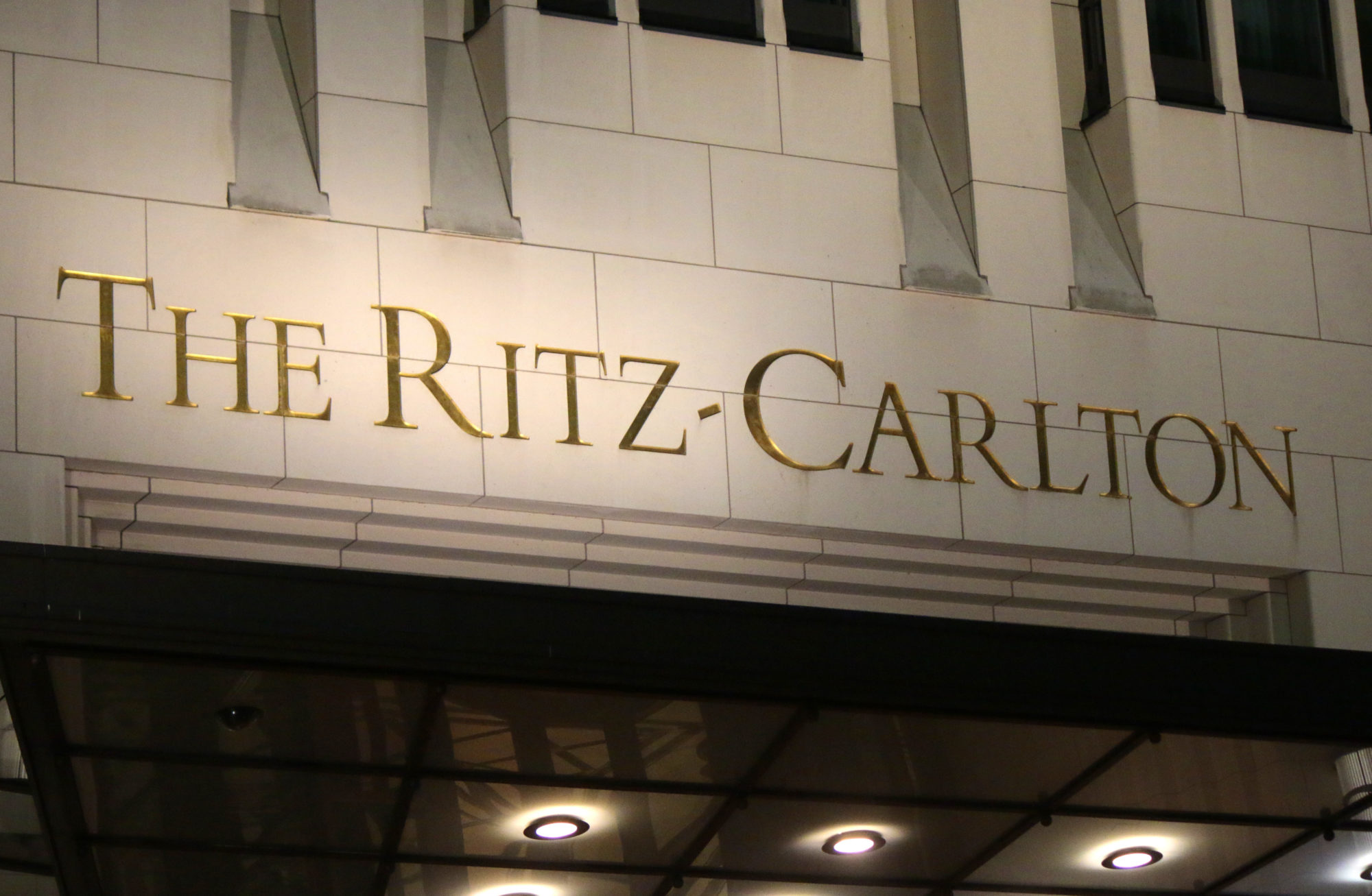 Ritz Carlton Hotel Sign