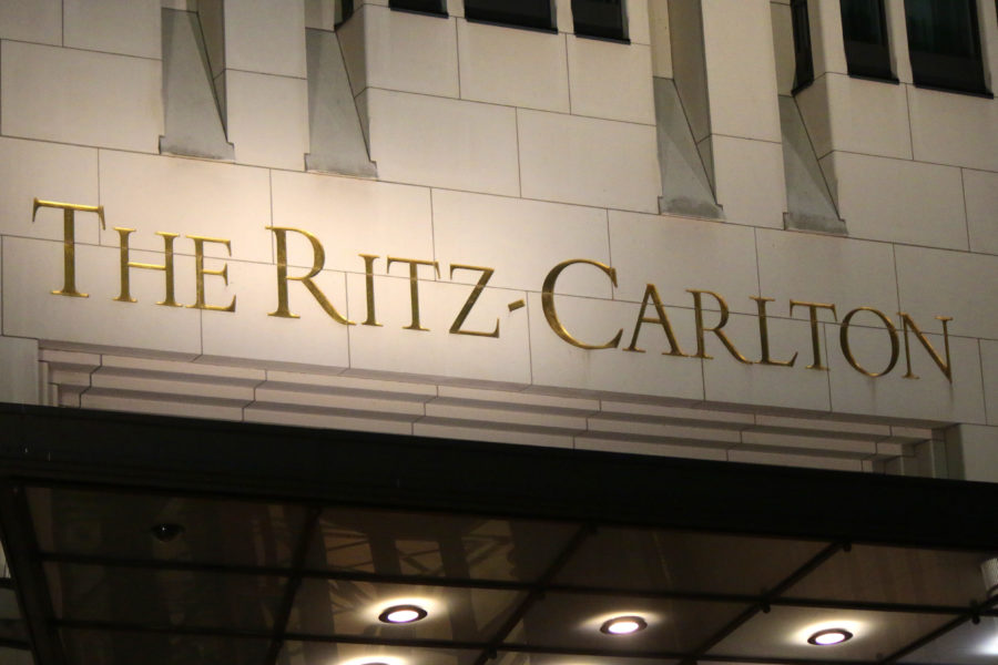 Ritz Carlton Hotel Sign