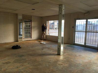 Salt Paper Studio before its transformation.